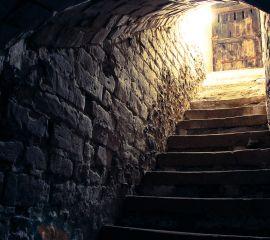 Descente de cave